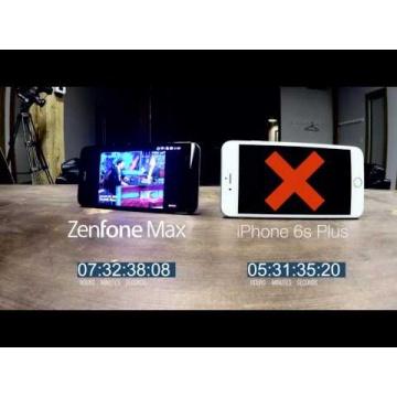 Battery marathon: ZenFone Max vs iPhone 6s Plus | ASUS